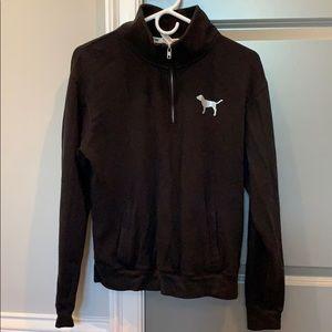 VS Pink 1/4 Zip Pullover